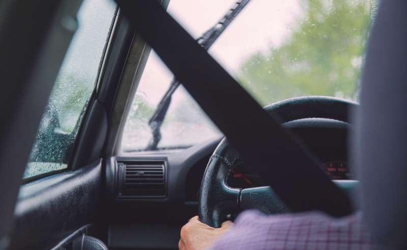 Wewnątrz pojazdu